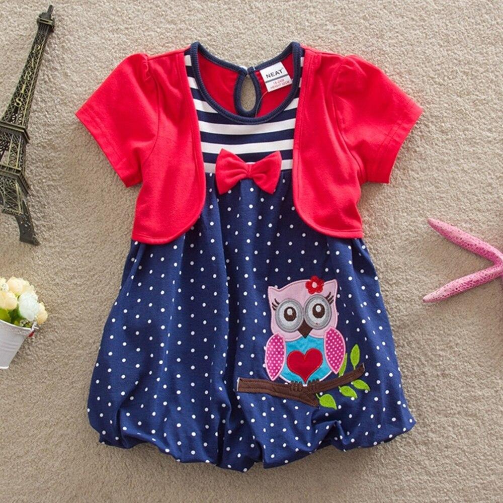 Vestido de verano para niñas NEAT cuello redondo algodón ropa para - Ropa de ninos - foto 5