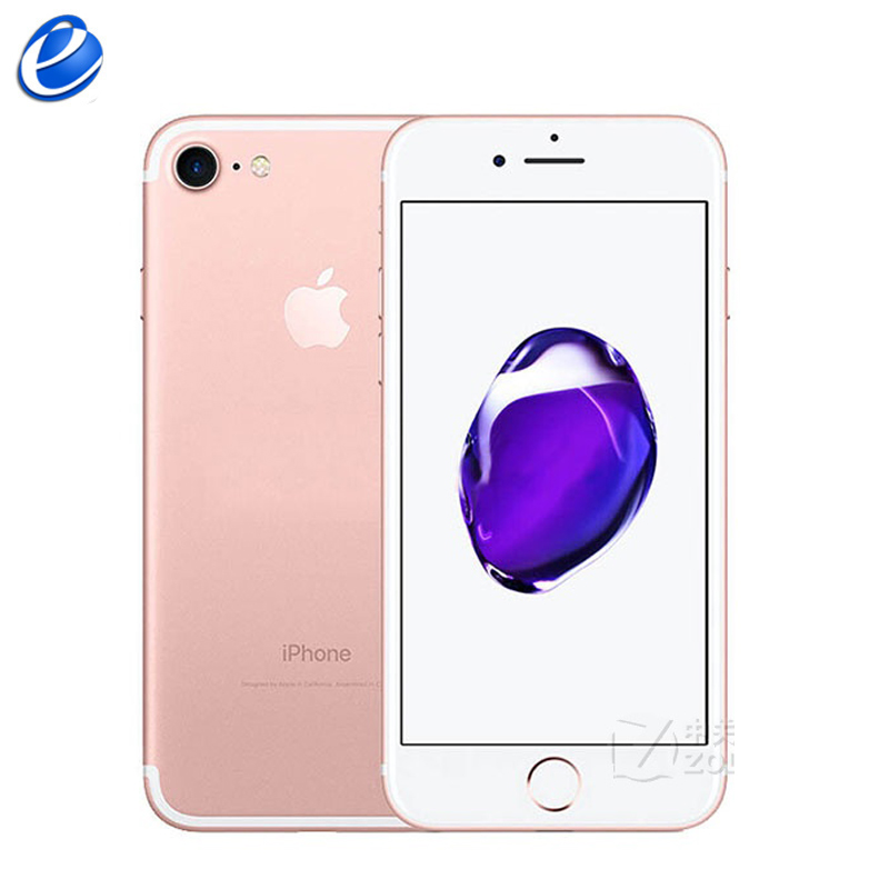 Unlocked Apple iPhone 7 Fingerprint 4G LTE global 32 128GB ROM IOS mobile phone 12 0MP Unlocked Apple iPhone 7 Fingerprint 4G LTE global 32/128GB ROM IOS mobile phone 12.0MP GPS Quad-Core Cellphone 1960mA