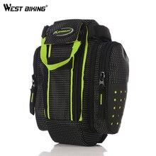 WEST BIKING Portable Bicycle Saddle Bag Rainproof Large Capacity Bike Seat Bags Cycling Road MTB Saddle Bags Bicycle Bike Bag