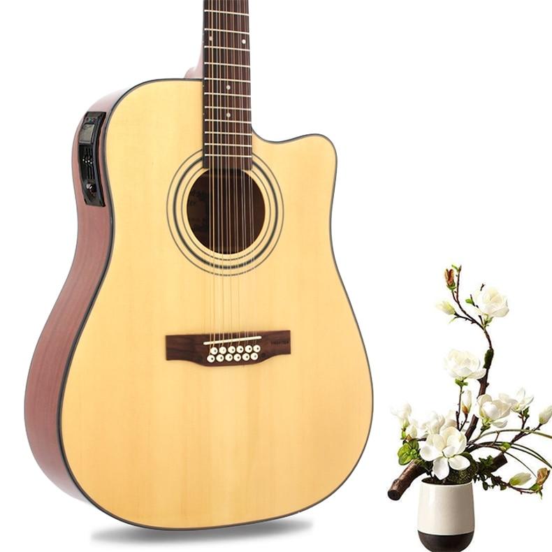 buy guitar 12 string acoustic electric steel string balladry folk pop flattop. Black Bedroom Furniture Sets. Home Design Ideas