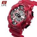 TTlife Mens Relógio Marca de topo Relógio de Luxo À Prova De Água Militar Chronograph Relógios De Pulso Moda Relógio relogio masculino 2016 Novo