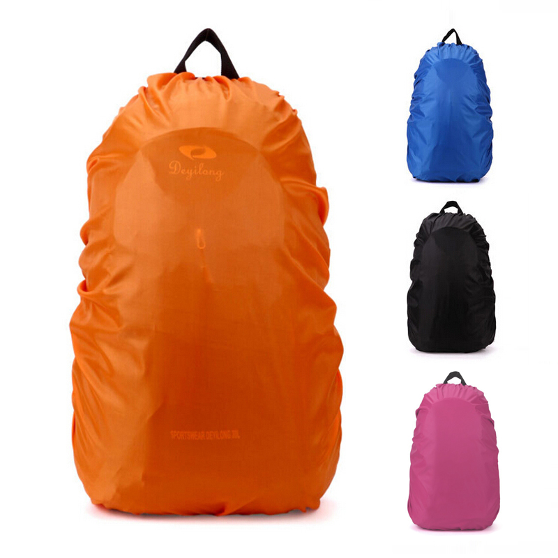 35l Útil sacolas mochila capa Color : Black / Blue / Orange / Rose Red