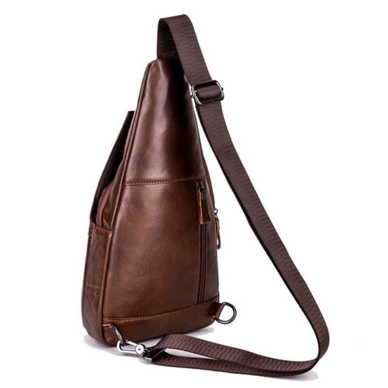 bolsa bolsa do homensageiro pacote Material Principal : Couro Genuíno