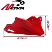 For Honda MSX 125 2013 2014 2015 Black Red Engine Protector Guard Cover Under Cowl Lowered