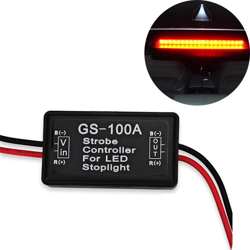 Brake Light Gs-100a <font><b>Led</b></font> Flasher Module Strobe Controller Brake Light Flasher Module For <font><b>Audi</b></font> <font><b>A4</b></font> <font><b>B5</b></font> B6 B8 A6 C5 C6 A3 A5 Q5 Q7 image