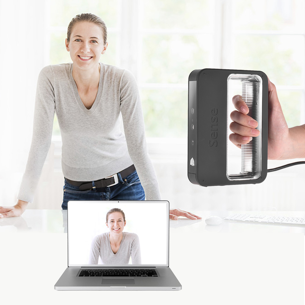 3D Systems Sense 2 Handheld 3D Scanner High Precision USB Connection for Design Research Crafts Processing