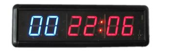 """Gym Interval Workout  Timer 1.8"""" 6 Digits electronic counter led running counter candle holder led countdown timer"""