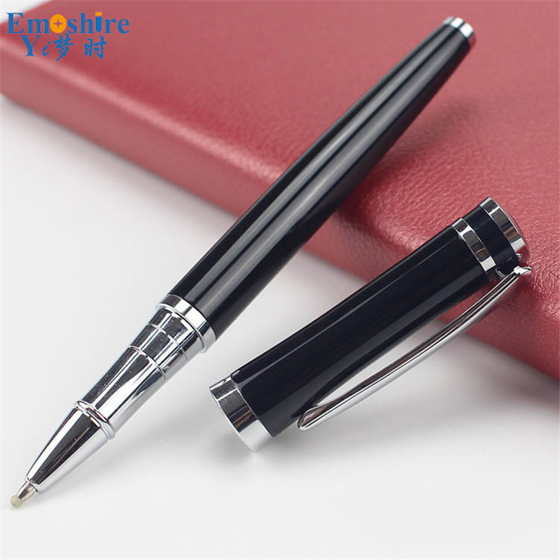Black Gel Pen Business Gifts Metal Signature Pen