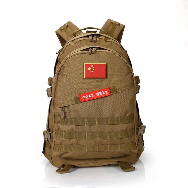 Fashion backpack Military Backpack  School Bags Rucksack Mochila Militar Climb Hike Morrales Waterproof Nylon Travel Bag