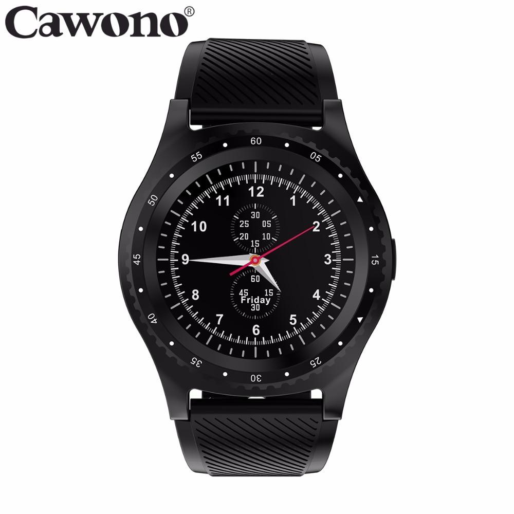 Cawono CN99 inteligente reloj podómetro tarjeta SIM TF deporte reloj inteligente con cámara reloj de pulsera para iPhone Samsung HUAWEI LG teléfono Android