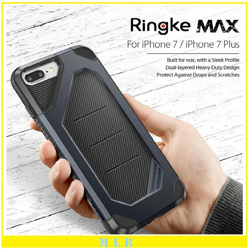 Original Ringke Fusion Max Extreme Protection Case for iphone 7/7 Plus Grip Stylish Armor Protective Phone Cover