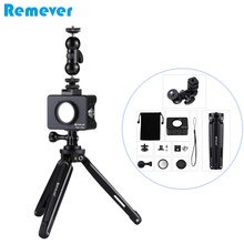 Lightweight Mini Tripod with Aluminun Alloy Protective Housing Cage for Sony RX0 /LED Fill Light Microphone Recording