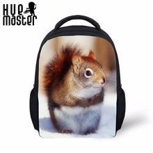 Βιβλίο τσάντα για παιδιά Παιδιά 12 ιντσών νηπιαγωγείο σχολικές τσάντες για τα κορίτσια αγόρια ηλικίας 1-6 μικρές Daypack Kawaii σκίουρος Mini Bagpack