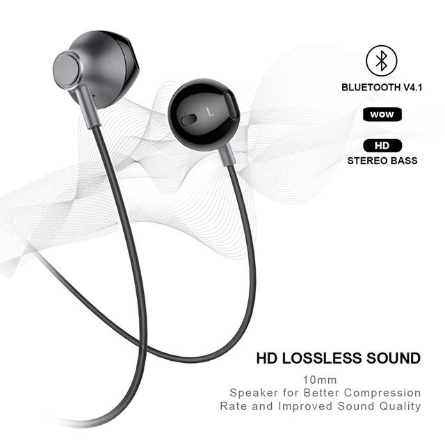 Picun H2 Bluetooth waterproof earphone with mic 5