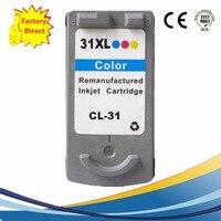 CL 31 CL31 CL 31 CL 31XL CL31XL 31XL Ink Cartridges For Canon Pixma IP1800 IP2600