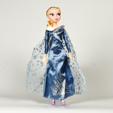Disneyy Doll Toys Frozenn Doll 30cm Queen Elsa Princess Doll Toys For Kids Birthday Gift