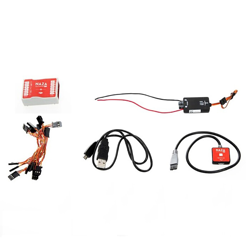 Naza M Lite Multi Flyer Versione originale di Controllo di Volo Controller w/PMU Power Module & LED & Cable