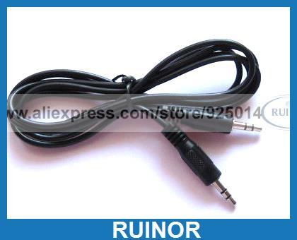ФОТО 30 Pcs 15M 35mm Nickel Stereo Plug Male Audio Cable