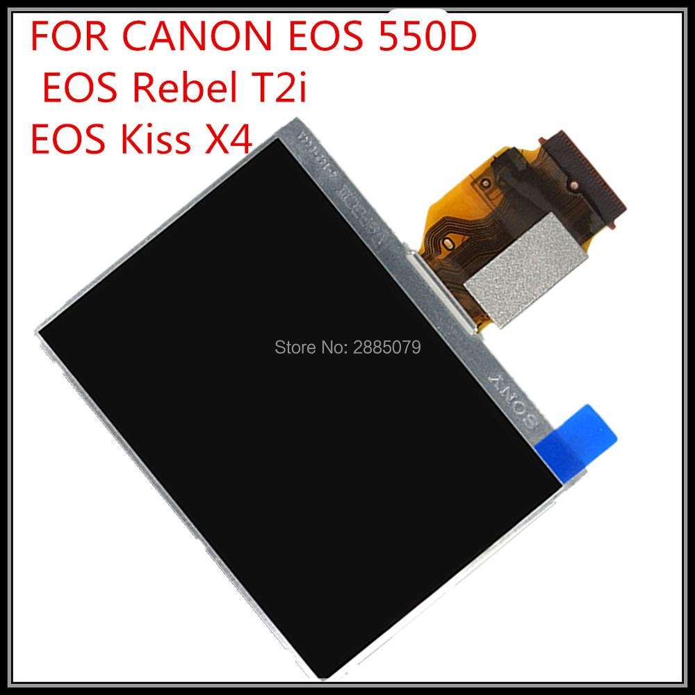 original new SLR <font><b>550D</b></font> LCD Display Screen For <font><b>CANON</b></font> <font><b>EOS</b></font> <font><b>550D</b></font> EOS550D lcd With Backlight camera <font><b>repair</b></font> <font><b>parts</b></font> free shipping image