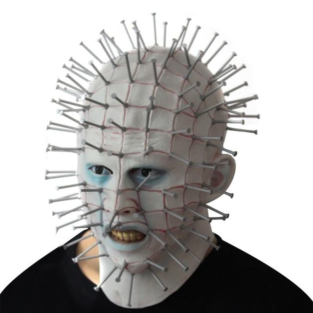 halloween masker horror movie hellraiser scary pinhead maskers