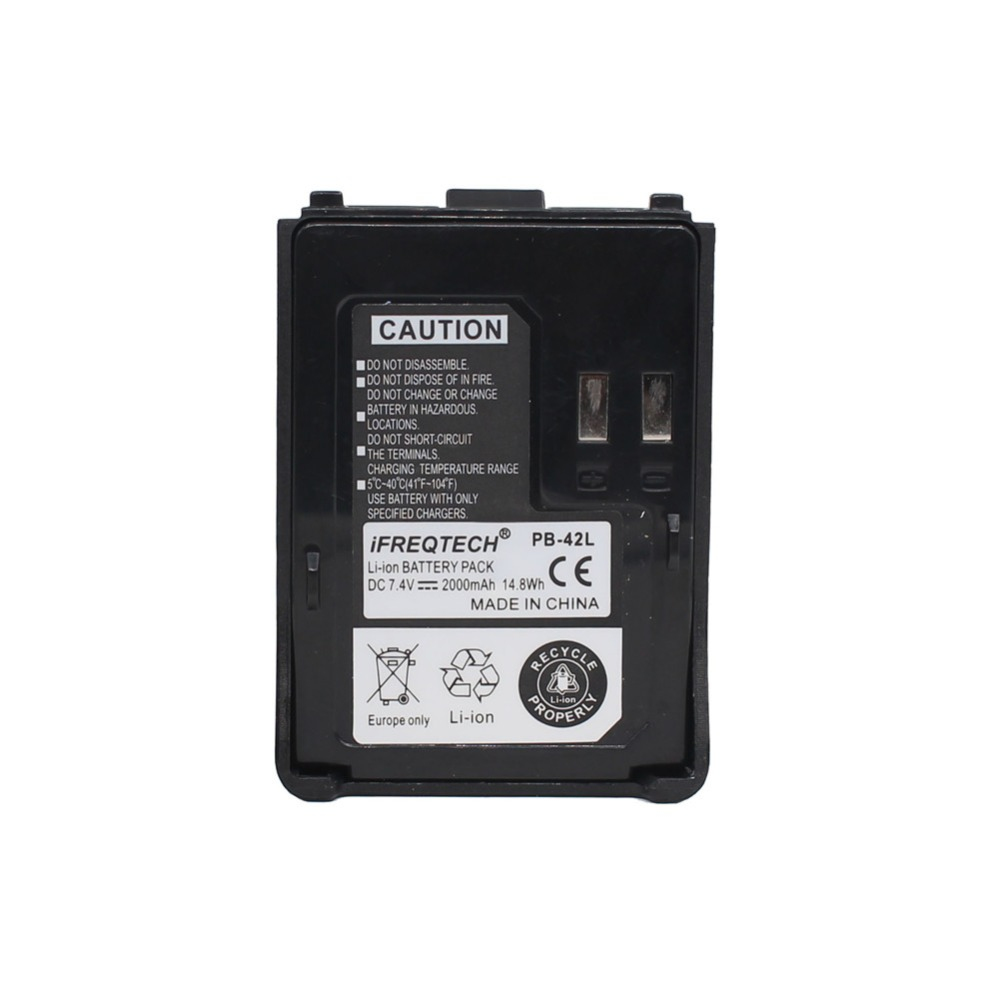 PB-42L PB42L 2000mAh Li-ion Battery For Kenwood Radio TH-F6 TH-F6A TH-F7 TH-F7E