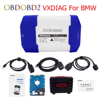 ALLSCANNER VXDIAG For BMW Multi Diagnostic Tool Coding Better For BMW Icom A2 A3 Car Doctor For BMW With 500GB DHL Free