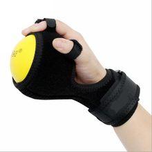 Deluxe anti espasticidade bola splint mão deficiência funcional dedo orthose mão bola curso paralisia reabilitação exercício