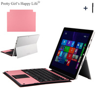 For Microsoft Surface Pro 6/Pro5 Wireless Bluetooth Keyboard Case For Surface Pro 3 4 Tablet Flip Stand Cover Capa +Stylus