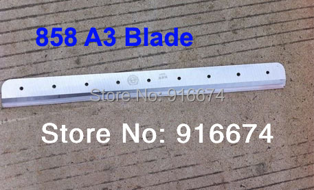 Fast free shipping Brand New Blade for 858 A3 Stack Paper Cutter зигуненко с н компьютеры и интернет