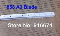 Rápido frete grátis Nova Marca Lâmina para 858 A3 Stack Cortador De Papel|blade blade|blade a3|blade 3 -
