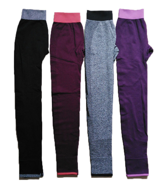 Workout Trousers Elastic High Waist Pencil Pants Jeggings Slim Leggings
