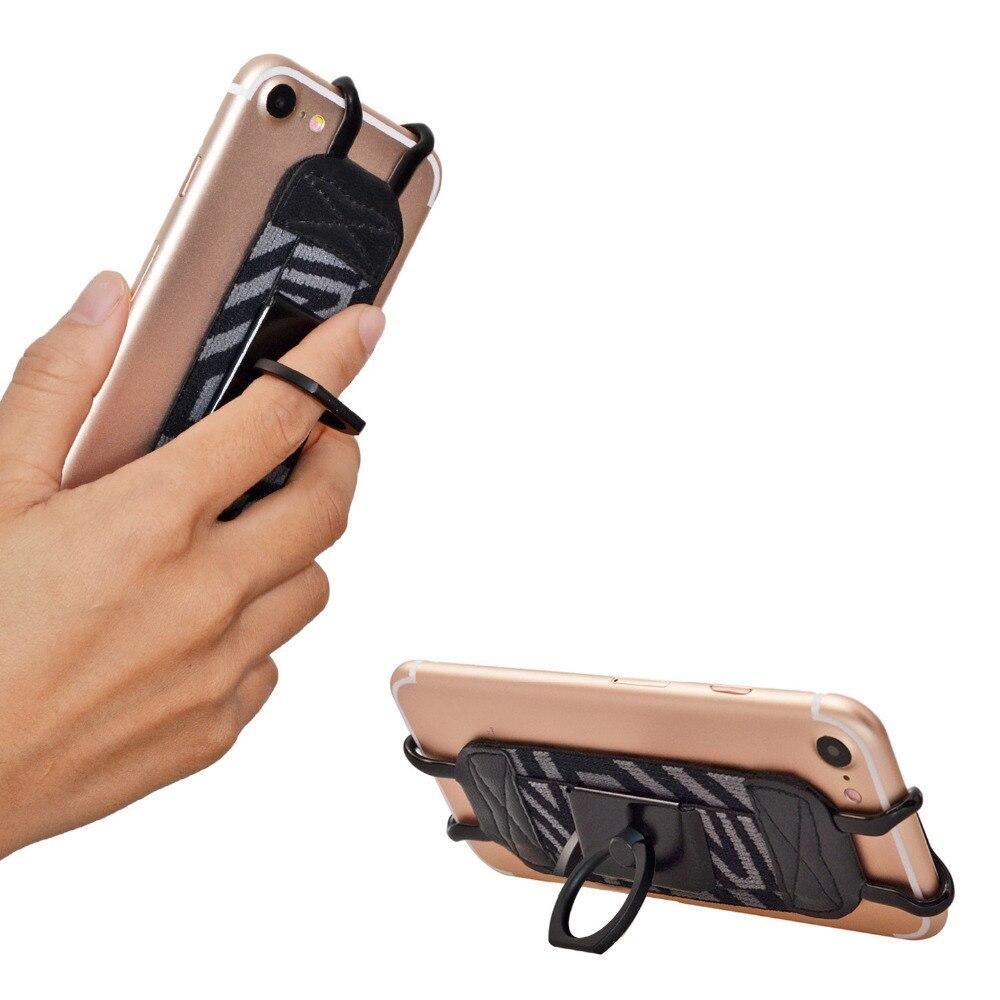 imágenes para Tfy seguridad correa de mano con 360 grados de rotación de metal anillo de dedo grip holder y soporte para iphone 6/6 s para iphone 7