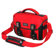 Sling Shoulder Camera Bag Photo Video Carry Case Box Camera Gray Black Small Travel DSLR Bags for Canon Nikon Sony Pentax T1