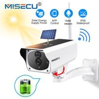 MISECU 1080P видео в Full HD наблюдения Открытый безопасности камера Солнечный батарея зарядки Wi Fi IP s водостойкий аудио движения PIR