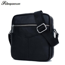 Soimportan Brand New Fashion Cowhide Man Messenger Bags Genuine Leather Male Cross Body Bag Casual Men Commercial Briefcase Bag