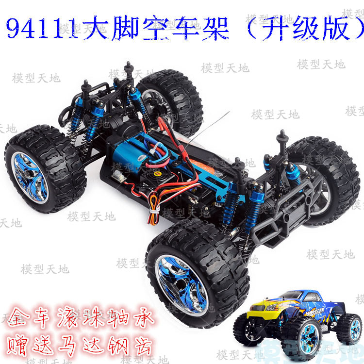 1 10 RC 4WD Model Toys Car Off road Vehicle Buggy Monster Bigfoot Truck Empty Frame