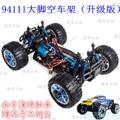 1/10 juguetes modelo de coche del rc 4wd off-road buggy vehículo marco vacío sin escobillas versión ilimitado hsp bigfoot monster truck 94111