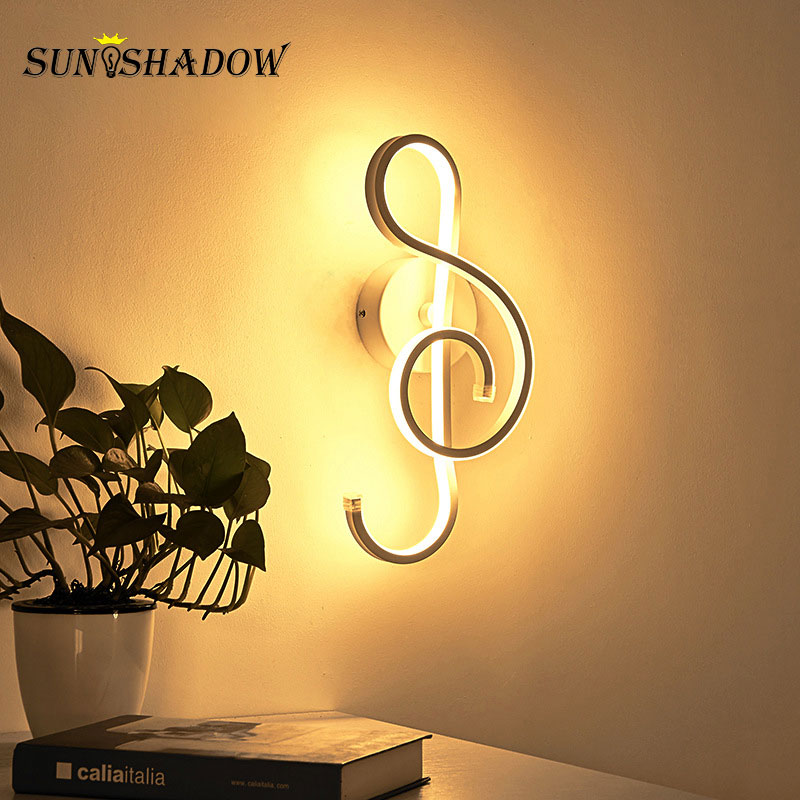 15W Modern Led Wall Lights Black White Frame Wall Sconce Mouned Wall Lamp For Living room Bedroom Dining room Bedside Luminaires in LED Indoor Wall Lamps from Lights Lighting