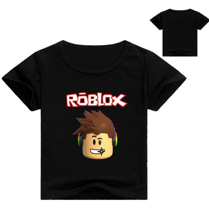 YLS 3-16Years Nununu Roblox T-shirt Jungen Hemd Ninjagoes Kleidung Teenager Jungen Kleidung Croc Top Blusa Menina Baby Milo Kinder