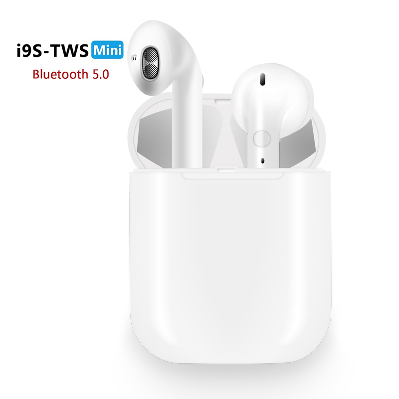 i9 <font><b>i9S</b></font> <font><b>TWS</b></font> headphones <font><b>Wireless</b></font> Earphone Portable <font><b>5.0</b></font> <font><b>Bluetooth</b></font> Headset Invisible <font><b>Earbud</b></font> for all smart phone PK <font><b>i10</b></font> i20 i30 <font><b>tws</b></font> image