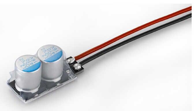 1 pièces Hobbywing Module de condensateur à basse impédance 2/4 pour Ezrun Xerun voiture Module de Super condensateur ESC Module #4 #2