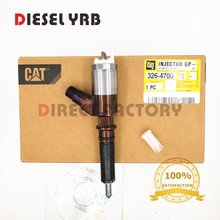 GENUINE AND BRAND NEW 3264700 DIESEL FUEL INJECTOR 326-4700 FOR 320D EXCAVATOR ENGINE цена