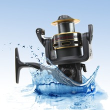 Spinning Fishing Reel Exchangeable Arms Runature 2000-6000, 7+1BB,  Aluminum Spool Steel Reels for Fishing with Folding Deal with