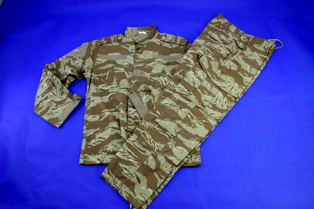 Hunting Military Bionic Desert Camo Jacket Pants Camouflage Suit Combat Uniform Clothes drawstring spliced camo jogger pants