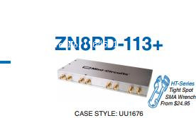 [BELLA] Mini-Circuits ZN8PD-113+ 2000-11000MHz eight SMA power divider