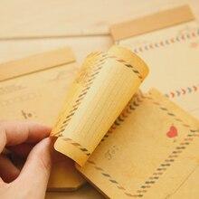 Free shipping  Mini Retro Vintage Kraft Paper Envelopes Cute Cartoon Kawaii Paper Korean Stationery Gift