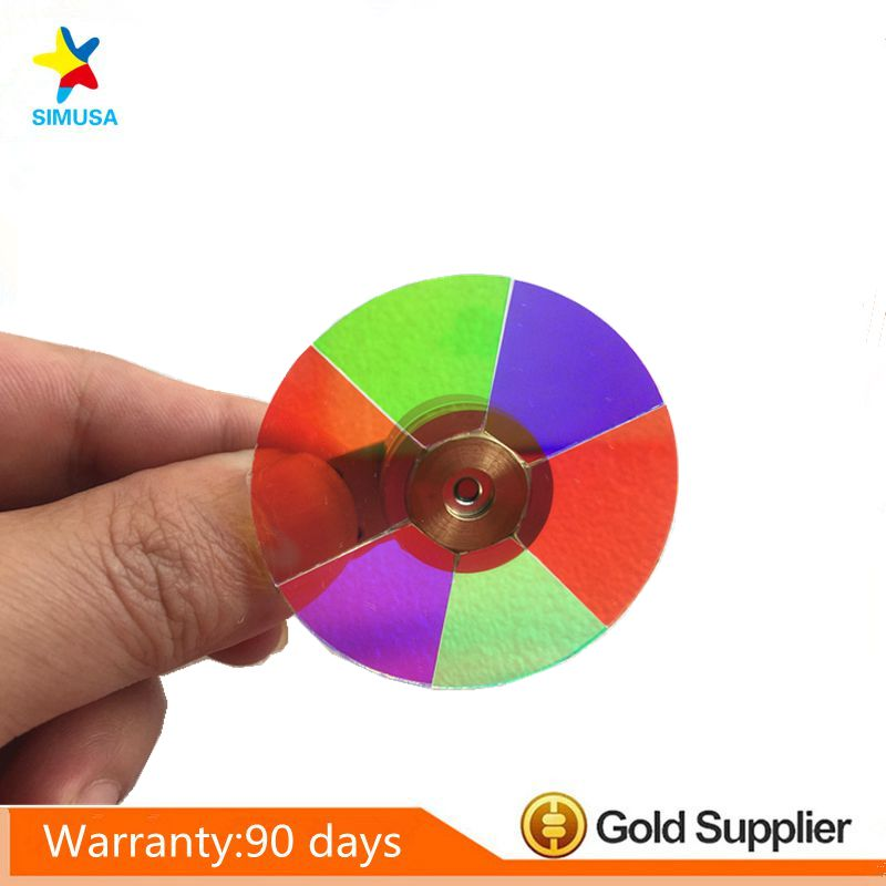 Projector Color Wheel for  BENQ  PE7700  Free shipping free shipping new original projector color wheel for benq pb8245 with three months warranty
