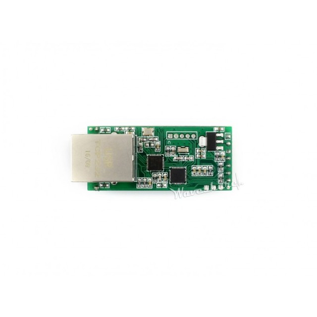 UART TO ETH Module Kit UART TTL to Ethernet Converter 10/100M Auto-MDI/MDIX Ethernet Interface High-speed Low-power Upgradable