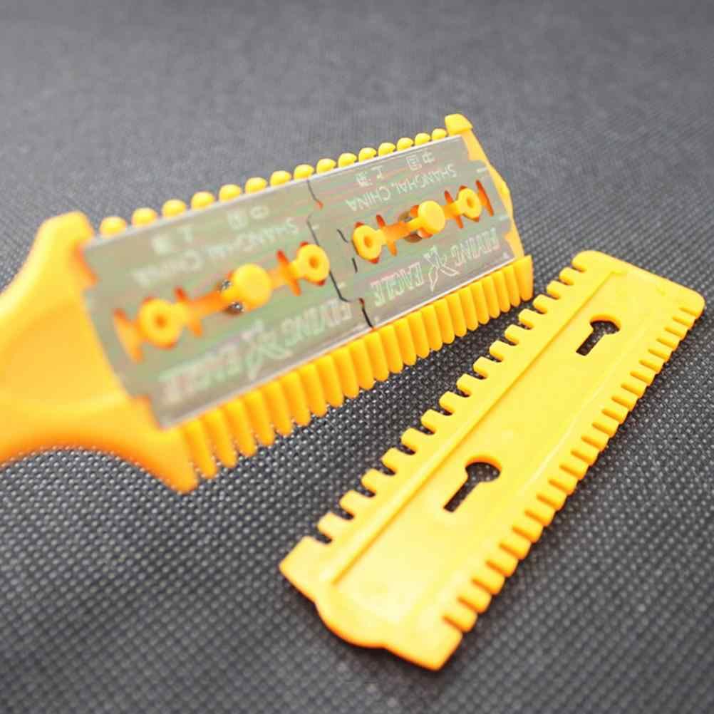 Profesjonalne wysokiej jakości nożyce do włosów nożyce fryzjerskie Razor Magic Blade Comb nożyczki fryzjerskie