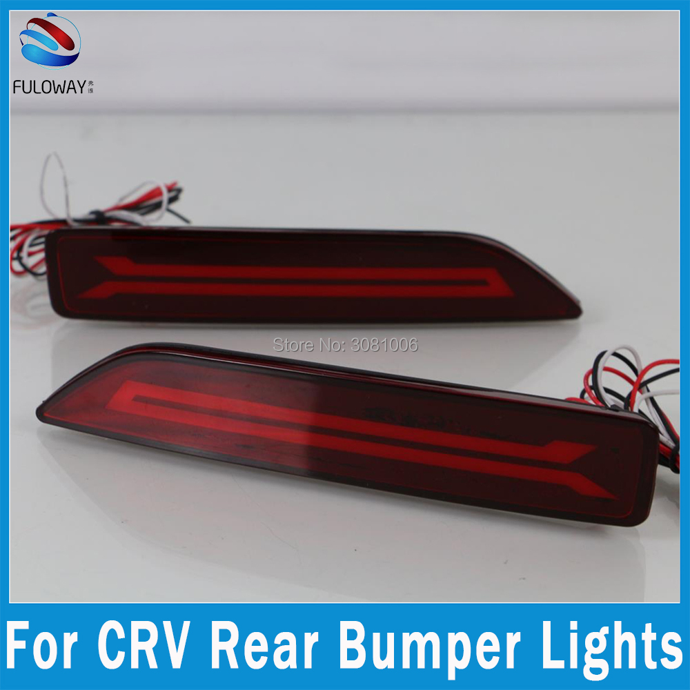 medium resolution of for honda crv cr v led tail light assembly brake drl daytime running lights fog multi functions auto rear bumper brake lights in car light assembly from